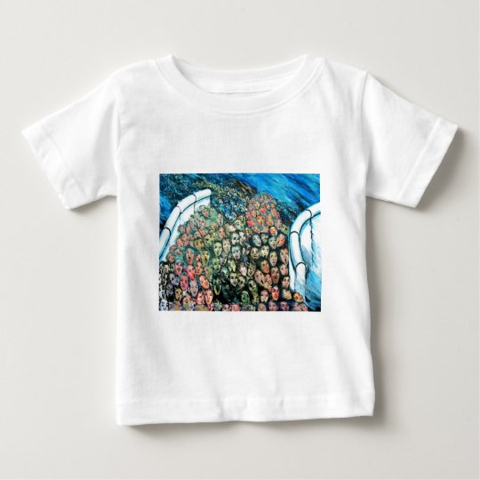East Side Gallery, Berlin Wall, Mass Escape Baby T-Shirt