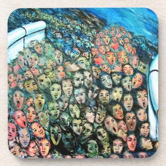 East Side Gallery, Berlin Wall, Mass Escape Beverage Coaster