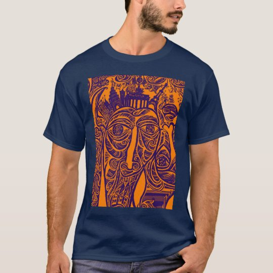 East Side Gallery, Berlin Wall, Modern Art (w30ob) T-Shirt