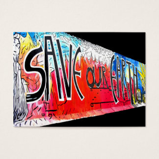 East Side Gallery, Berlin Wall, Save Our Earth (1) Business Card
