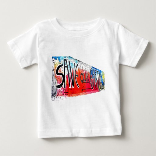 East Side Gallery, Berlin Wall, Save Our Earth (2) T Shirts