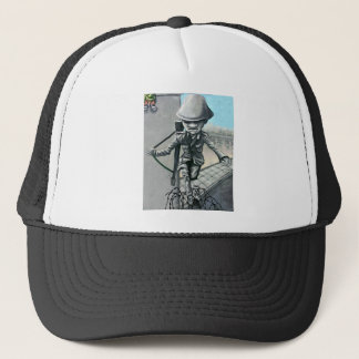 East Side Gallery, Berlin Wall, Sentry on Wall (ac Trucker Hat