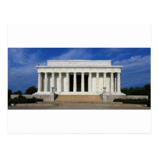 East Side of the Lincoln Memorial Washington D.C. Post Card