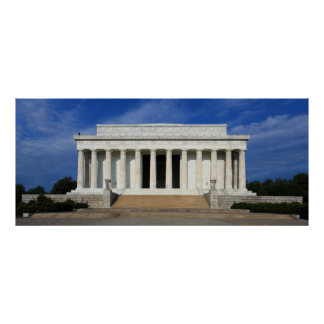 East Side of the Lincoln Memorial Washington D.C. Posters