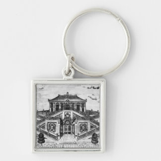 East side of the Palace of the Calm of the Sea, Ga Keychain