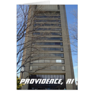 East Side, Providence, RI - Brutalist Architecture Card