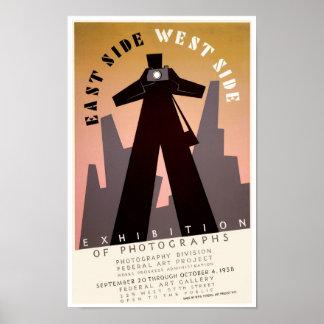 East Side ~ West Side Poster