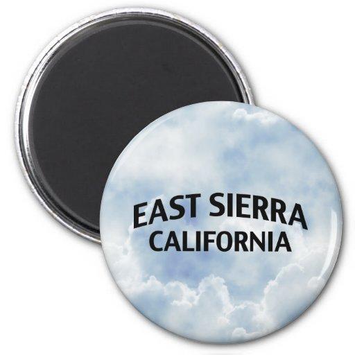 East Sierra California Fridge Magnets