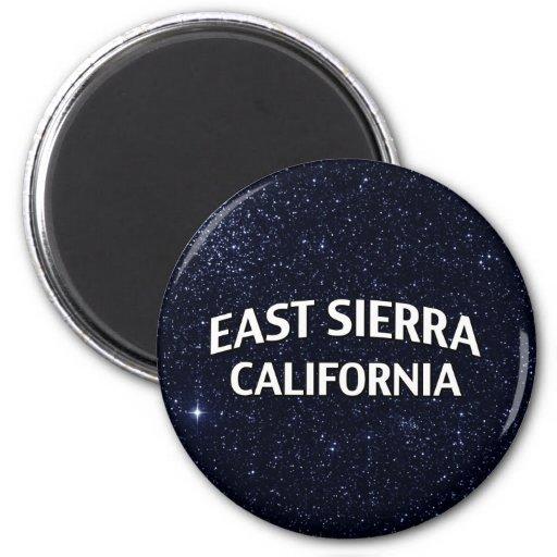 East Sierra California Refrigerator Magnets