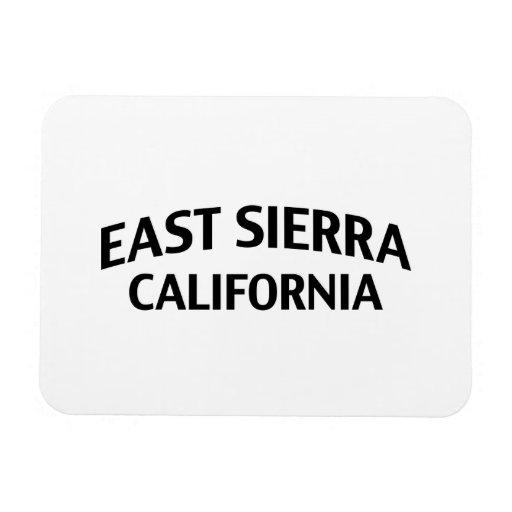East Sierra California Rectangular Magnets
