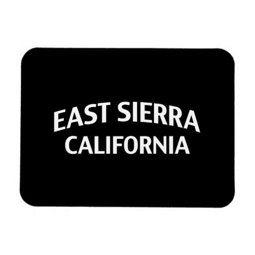 East Sierra California Rectangle Magnet