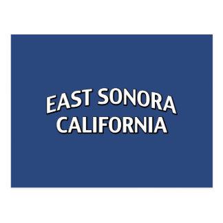 East Sonora California Postcard
