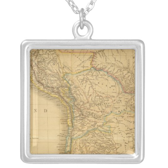 EaSt. South America Silver Plated Necklace