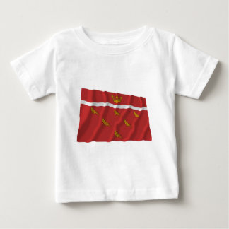 East Sussex Waving Flag Baby T-Shirt