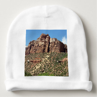 East Temple Zion National Park Utah Baby Beanie