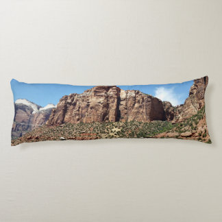 East Temple Zion National Park Utah Body Pillow
