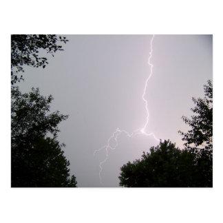 East Tennessee Lightning Postcard