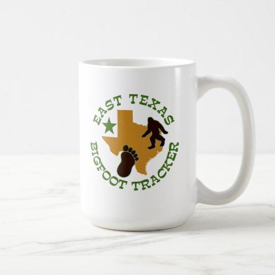 East Texas Bigfoot Tracker Coffee Mug
