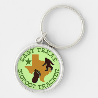 East Texas Bigfoot Tracker Keychain