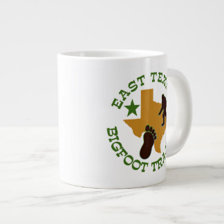 East Texas Bigfoot Tracker Large Coffee Mug
