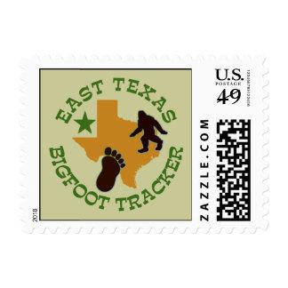 East Texas Bigfoot Tracker Postage Stamp