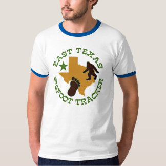 East Texas Bigfoot Tracker T-Shirt