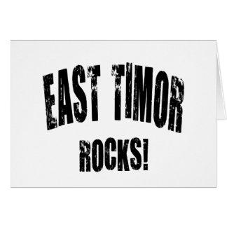 EAST TIMOR CARD