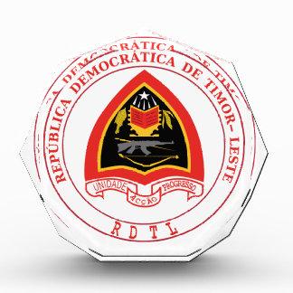 East Timor  Coat of Arms Acrylic Award