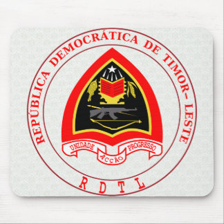 East Timor Coat of Arms detail Mouse Pad