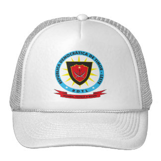 East Timor Coat of Arms Hat
