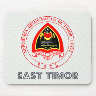 East Timor Coat of Arms Mouse Pads
