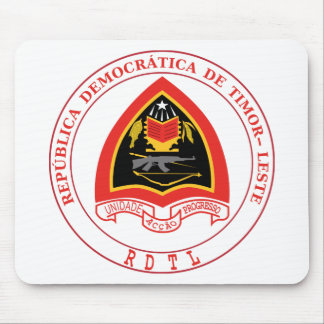East Timor  Coat of Arms Mouse Pad
