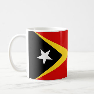 east timor country flag nation symbol long coffee mug