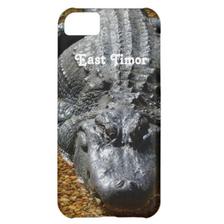 East Timor Crocodile Case For iPhone 5C
