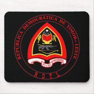 east timor emblem mouse pad