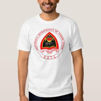 east timor emblem t shirt