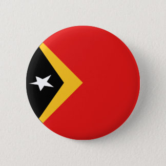 East Timor Fisheye Flag Button