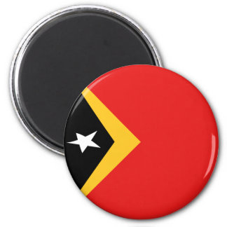 East Timor Fisheye Flag Magnet