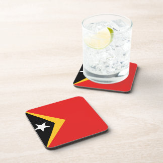 East Timor Flag Coaster