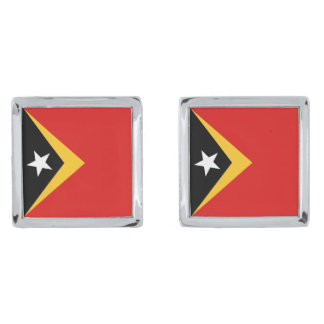 East Timor Flag Cufflinks