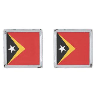 East Timor Flag Cufflinks