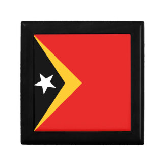East Timor Flag Gift Box