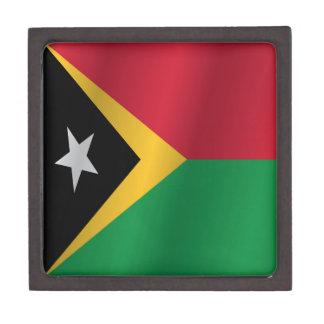 East Timor flag Jewelry Box