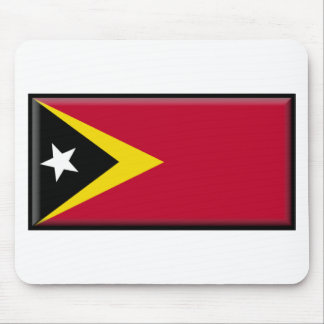 East Timor Flag Mouse Pad