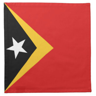 East Timor Flag Napkin