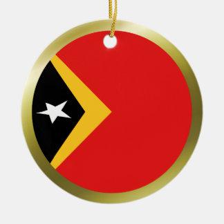 East Timor Flag Ornament