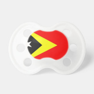 East Timor Flag Baby Pacifier