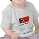 East Timor Flag T Shirts