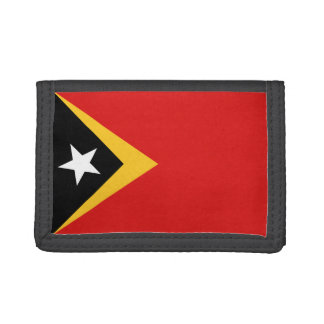 East Timor Flag Wallet