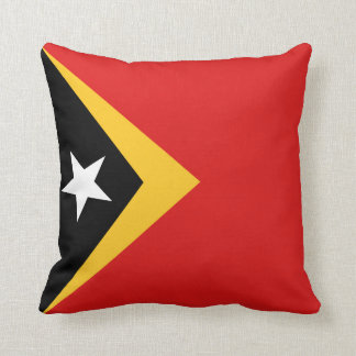 East Timor Flag x Flag Pillow